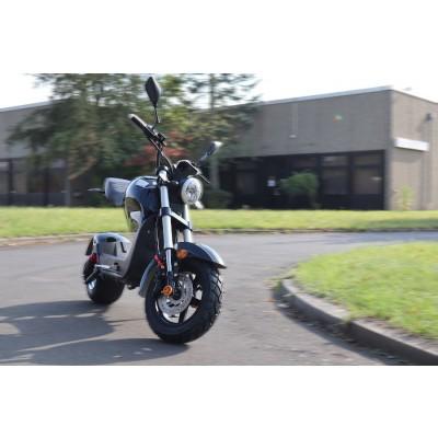 Elektro Scooter Motorrad mit Straßenzulassung bis zu 45 km/h schnell - ca. 40-45 km Reichweite, 60V   1500W   12AH Akku - C1