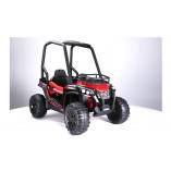"Kinderfahrzeug - Elektro Auto ""Buggy 370"" - 12V10AH Akku,2x120W Motoren, Ledersitz + EVA Reifen, - 2,4Ghz +MP3"