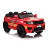"""Kinderfahrzeug - Elektro Auto """"Feuerwehr RR002"""" - 12V7AH Akku,2 Motoren- 2,4Ghz Fernsteuerung, MP3+Sirene"""