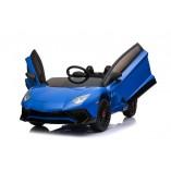 """Kinderfahrzeug - Elektro Auto """"Lamborghini Aventador SV"""" - lizenziert - 12V7AH, 2 Motoren- 2,4Ghz Fernsteuerung, MP3, Ledersitz+EVA"""
