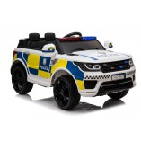"Kinderfahrzeug - Elektro Auto ""Polizei RR002"" - 12V7AH Akku,2 Motoren- 2,4Ghz Fernsteuerung, MP3+Sirene"