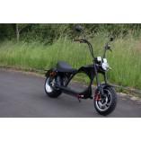 Elektro Scooter Coco Bike E-Chopper mit Straßenzulassung bis zu 48 km/h schnell - ca. 50 km Reichweite, 60V | 2000W | 20AH Akku