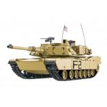 "RC Panzer ""M1A2 Abrams"" 1:16 Heng Long -Rauch&Sound + Metallgetriebe und 2,4Ghz"