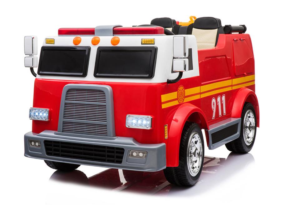 "44ET4818 Kinderfahrzeug - Elektro Auto ""Feuerwehrwagen"" - Doppelsitzer - 12V10AH"