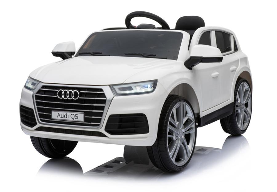 "44ET4819-Weiss Kinderfahrzeug - Elektro Auto ""Audi Q5 S-Line"" -das aktuellste Mo"