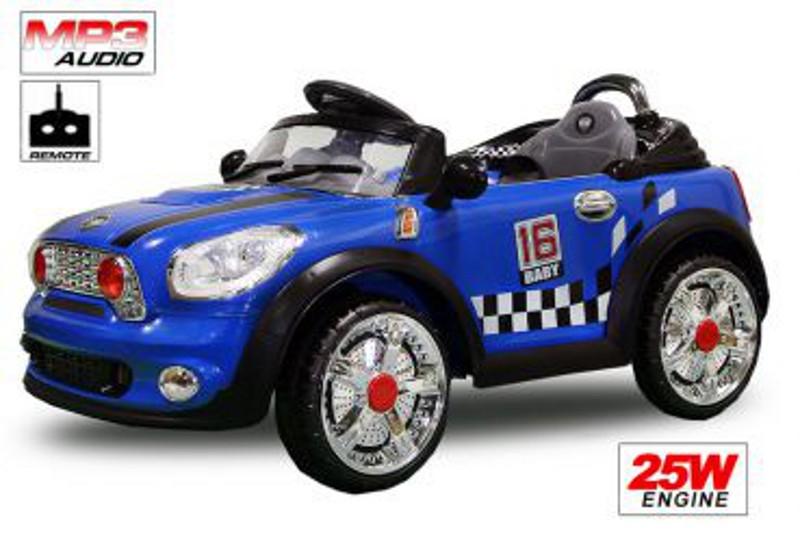 Children electric<br> car, MI STYLE 25W<br>/ 6V / RC / MP