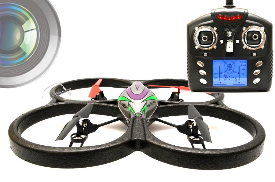 RC  4,5 Kanal 2.4 Ghz UFO mit HD Kamera Quadrocopter, Drohne +1GB Speicherkarte