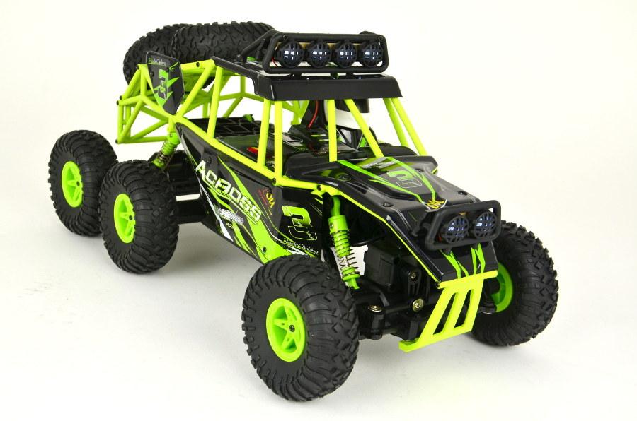 44ET3783 RC Rock Crawler 1:18 Monster Truck 6WD von WL-Toys - 2,4Ghz
