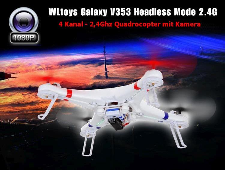 RC 4,5 Kanal 2.4 Ghz UFO - 6-Achsen Gyro Quadrocopter