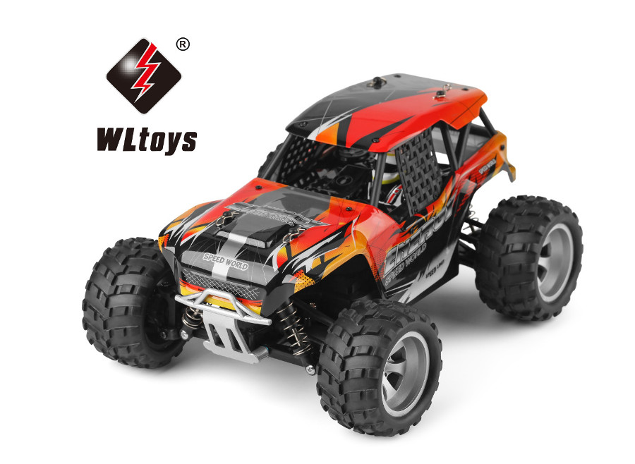 "RC Elektro Monster Truck 1:18 mit 2,4Ghz, Allradantrieb ""WL 8405"" WL Toys"