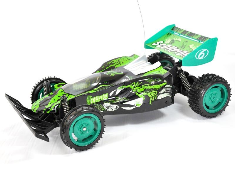RC Buggy Scorpion 1:10 inkl.Akku - grün