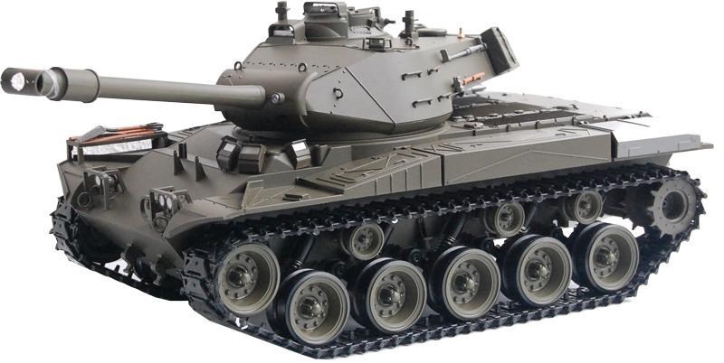 RC Panzer M41 A3<br>  WALKER BULLDOG <br>Heng Long -Rauch