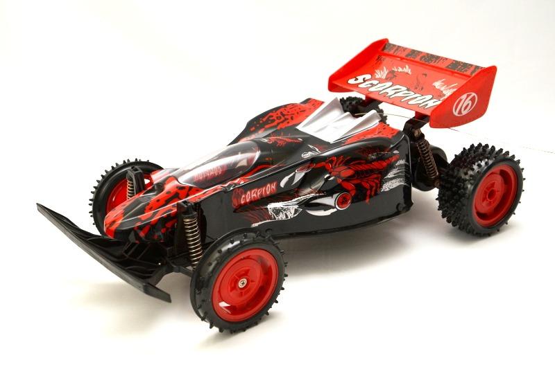 RC Buggy Scorpion 1:10 inkl.Akku - rot