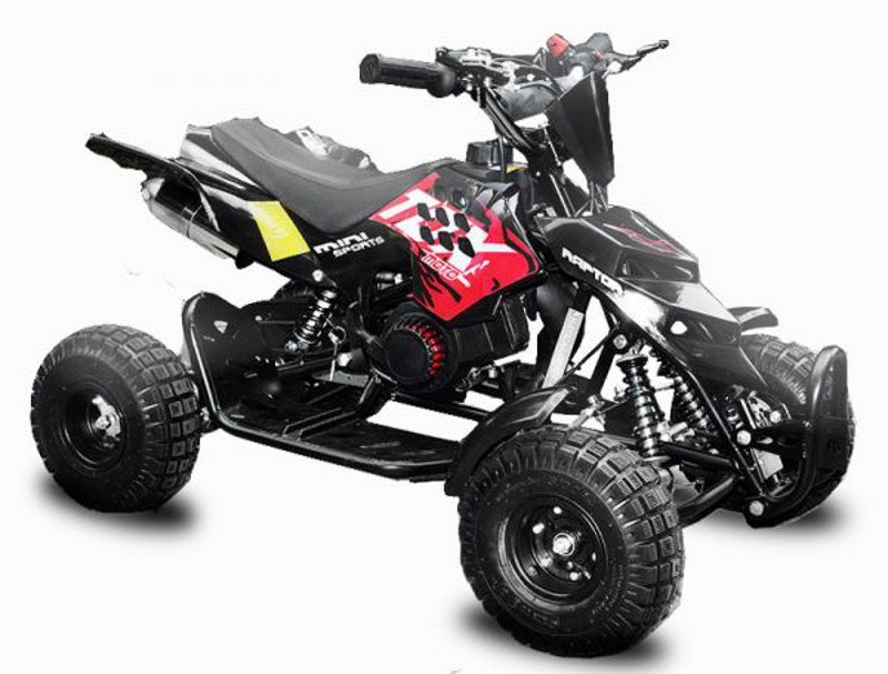 49cc mini QUAD<br> REPTI with<br> Original Easy ...